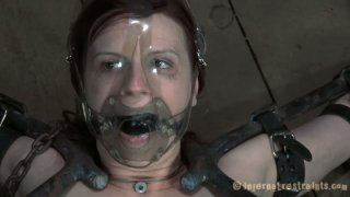 Claire Adams films in a hardcore BDSM_video showing her_abilities to take rough actions on her body Preview Image