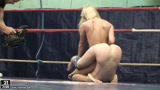 Hot_and_severe_blond_wrestler_Nataly_Von_is_ready_to_kick_her_rival's_ass Preview Image