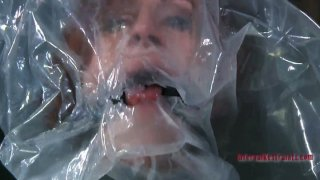 Plastic bag makes chubby redhead whore Catherine de_Sade_suffocate Preview Image