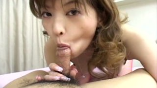 Saucy Japanese slut Tyara shows how well she sucks cocks Preview Image