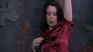Curvaceous_MILF_in_red_dress_gets_punished_in_the_lair_of_BDSM Preview Image