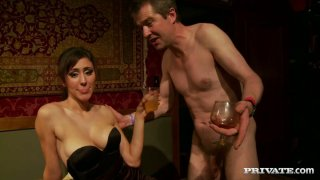 Careless busty whore Sindee Coxx joins private swingers club Preview Image