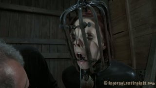 Provocative bitch Claire Adams cums while filming BDSM action Preview Image