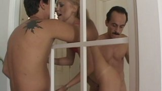 Liv Wilder in piping hot group sex video Preview Image