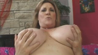 BBW freckle MILF Deedra gives head and gets her ugly cunt fucked Preview Image