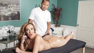 Richelle Ryan hot MILF latina getting destoyed by a BBC after spray tan Preview Image