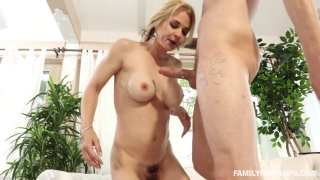 Blonde MILF loves it when her ass is nailed brutally Preview Image