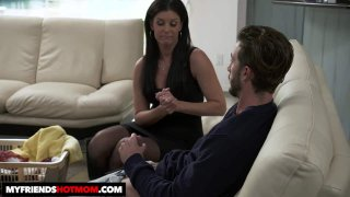 India Summer Shows Her Son's Friend How To Fuck a MILF Preview Image