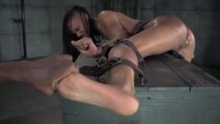 Ebony Sub Gets Feet Dominated By_Master Preview Image