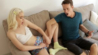 Amazing teen_Chloe Cherry fools around with her_stepbrother Preview Image
