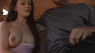 Natural tits on slutty bareback hooker Sarah Jade Preview Image
