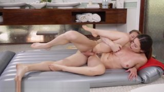 Melissa Moore Shower Sex with Older Mechanic Preview Image