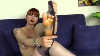 Redhead_In_Nylons_Is_Full_Of_Surprises Preview Image
