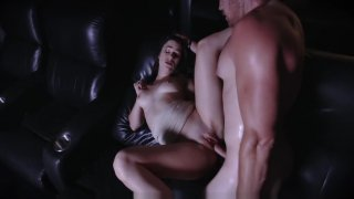 ExxxtraSmall - Hot Teen Fucks Stepbro In Movie Theatre Preview Image