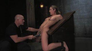 Blonde Anal Dildo Bondage Sex P1 (More on TeenPornMaster) Preview Image