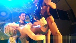 Caroline De Jaie Max Rajoy incredible fuck on stage SEM 2015 Preview Image