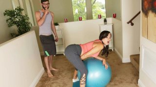Babe on Ball gets a Dick on it Too! Preview Image