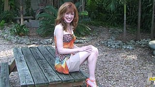 Skinny redhead pussy_spreading Preview Image
