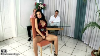 Porn_threesome._Busty_Aletta_Ocean_takes_two_cocks Preview Image