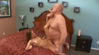 Spoiled chick with big ass Autumn Skyes rides a strong and hot cock Preview Image