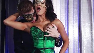 Hot Peta is fucked by a complete stranger while wearing a mask Preview Image