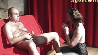 BUSTY milf is enjoying with older man Preview Image