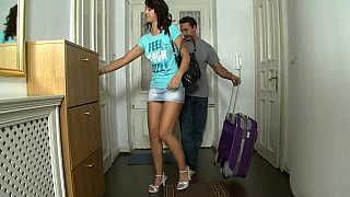 Long legged Olivia wants to rent an apartment Preview Image