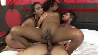 Ladyboys Adelaide Novaes and_Luana Fernandes ride Alex_Victor Preview Image