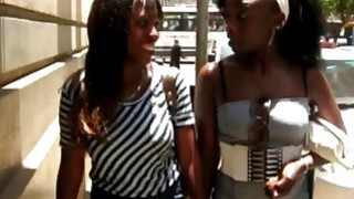 Hot ebony lesbians Anula and Yehibe love to lick each other pussies Preview Image