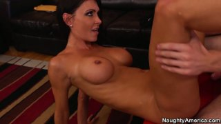 Slim girl with big peachy boobs Jessica Jaymes gets fucked Preview Image
