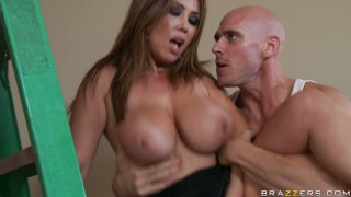 Shameless cheating housewife Kianna Dior gets fucked by carpenter Preview Image