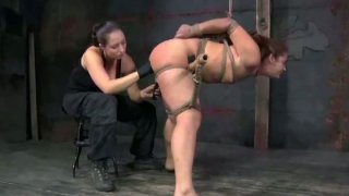 Screaming_tied_brunette_with_smeared_makeup_gets_her_wet_pussy_stimulated Preview Image