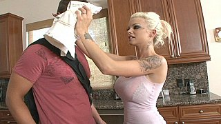 Skinny busty teen Delta fucks in the kitchen Preview Image