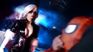 Black Cat fucks by Spidey from behind her pussy is wet Preview Image