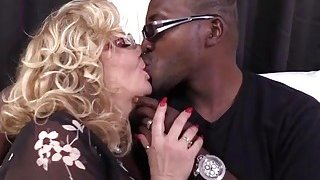 Cougar Karen Summer gets her pussy fucked by a big black cock Preview Image