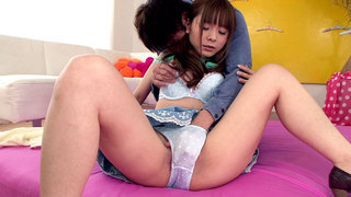 Exotic Japanese Girl Fucks And Squirts Preview Image