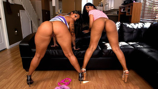 Rose Monroe_and Spicy J shaking their asses and licking each other's cunts Preview Image