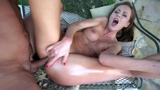 Tina Kay gets her rectum destroyed by the hard rod Preview Image