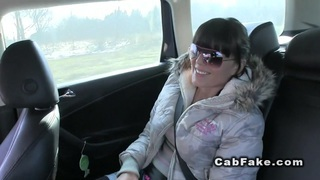 Amateur fucks in fake taxi for revenge Preview Image