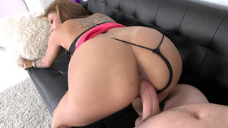 Jamie Valentine gets fucked on the couch, doggy style Preview Image