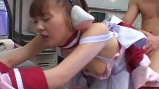 Japanese babe in a costume fucked hard! Preview Image