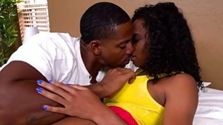 Juicy ass ebony Ivy Young getting fucked by white dick Preview Image