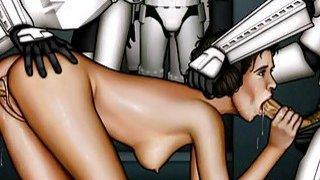 Star Wars xxx parody orgy Preview Image