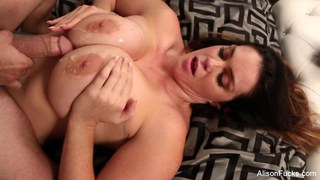 Alison Tyler gets jizz on her huge tits Preview Image