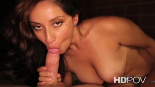 HD POV Hot babe and her big tits riding your cock Preview Image