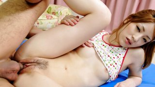 Raunchy_Yuu_loves_riding_on_that_dick_as_her_tight_pussy_is_split_open Preview Image