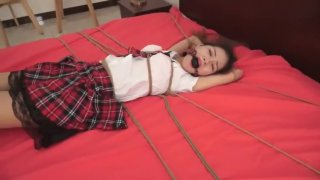 Bondage Tickle Chinese Cute School Girl Preview Image