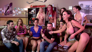 Eva Notty, Jada Stevens, Nikki Benz, and Romi Rain have lots of fun Preview Image