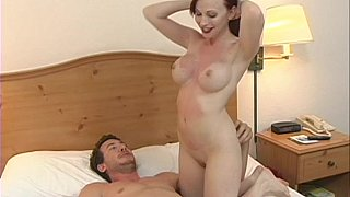 Redhead MILF getting all wild in a hotel room Preview Image