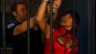Whorable prisoner sucks the stiff dick of the cop Preview Image